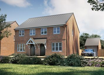 "Thumbnail 3 bedroom semi-detached house for sale in ""The Studland"" at Omega Boulevard, Warrington"