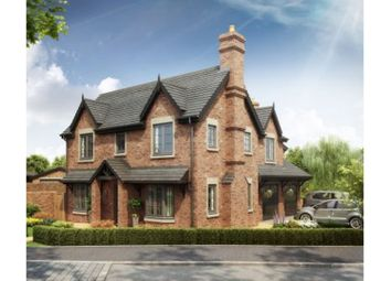 Thumbnail 5 bed detached house for sale in The Hawthorns The Village, Newcastle