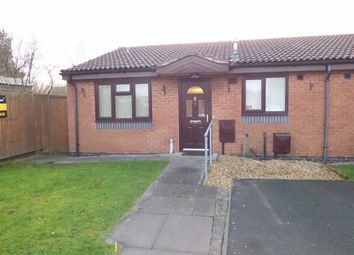 Thumbnail 2 bed semi-detached bungalow for sale in Fistral Gardens, Wolverhampton, West Midlands