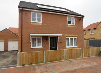 Thumbnail 5 bedroom detached house for sale in Teasel Close, Whittlesey, Peterborough