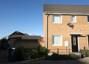 Thumbnail 2 bedroom terraced house to rent in Tabor Court, Hampton Centre, Peterborough