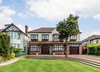 Thumbnail 6 bed detached house for sale in Uphill Road, London, London