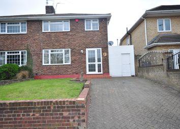 Thumbnail 3 bed semi-detached house to rent in Wainscott Road, Wainscott, Rochester
