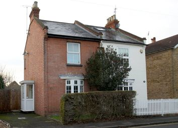 Thumbnail 5 bed semi-detached house for sale in Denham Road, Egham, Surrey