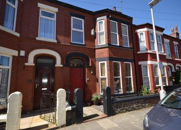 Thumbnail 4 bed terraced house for sale in Willoughby Road, Waterloo, Liverpool