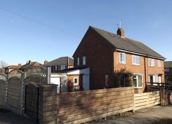 Thumbnail 5 bed semi-detached house for sale in Wedderburn Avenue, Harrogate, North Yorkshire