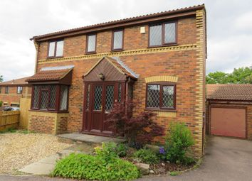 Thumbnail 4 bed detached house for sale in Beckinsale Grove, Crownhill, Milton Keynes