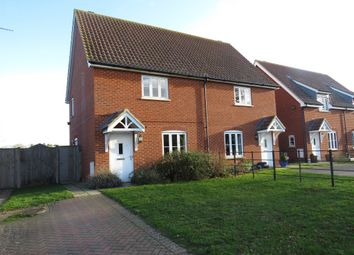 Thumbnail 2 bed semi-detached house for sale in Leicester Road, South Creake, Fakenham