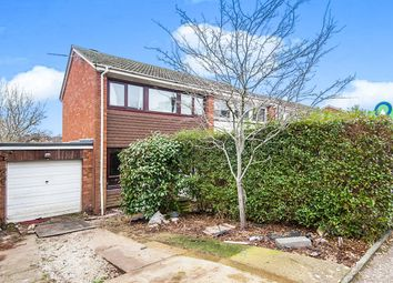 Thumbnail 2 bed semi-detached house for sale in Travershes Close, Exmouth