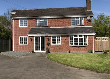 Thumbnail 4 bed detached house for sale in Hawthorn Crescent, Burbage, Hinckley