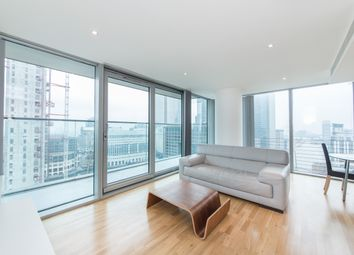 Thumbnail 2 bed flat to rent in The Landmark, East Tower, Canary Wharf