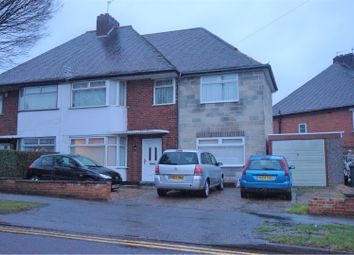 Thumbnail 4 bed semi-detached house for sale in Stenson Road, Littleover