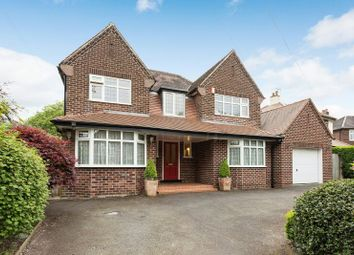 Thumbnail 4 bed detached house for sale in Woodhead Road, Hale, Altrincham