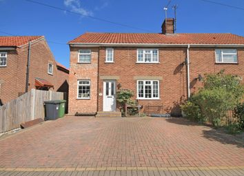 Thumbnail 3 bed semi-detached house for sale in Burton Avenue, North Walsham