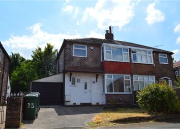 Thumbnail 3 bed semi-detached house for sale in Windsor Crescent, Prestwich
