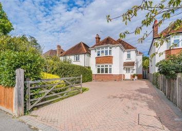 Thumbnail 3 bed detached house for sale in St. Marys Road, Weybridge, Surrey
