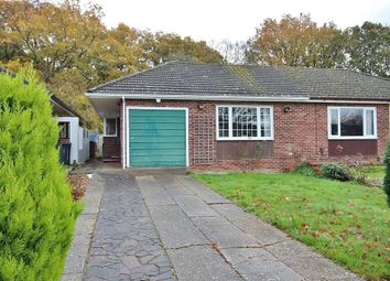 Thumbnail 3 bed semi-detached bungalow for sale in Keats Close, Cowplain, Waterlooville