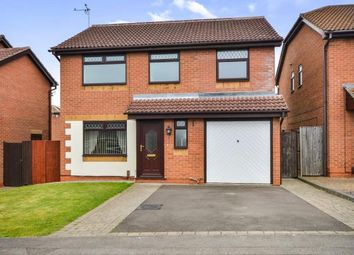 Thumbnail 3 bed detached house for sale in Wheatfield Crescent, Mansfield Woodhouse, Mansfield, Nottinghamshire