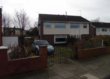 Thumbnail 2 bedroom semi-detached house to rent in Johnston Avenue, Bootle