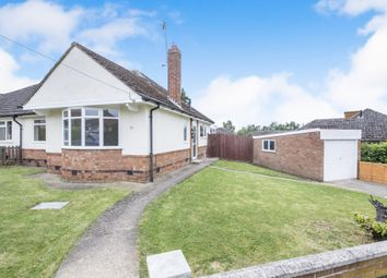Thumbnail 2 bedroom semi-detached bungalow for sale in Aintree Crescent, Oadby, Leicester