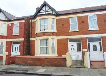 Thumbnail 4 bed property to rent in Central Park Avenue, Wallasey