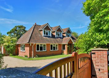 Thumbnail 5 bed detached house for sale in Sway Road, Pennington, Lymington