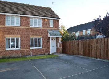 Thumbnail 3 bed semi-detached house to rent in Kingfisher Court, Normanton