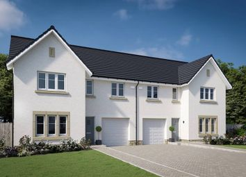 "Thumbnail 4 bed semi-detached house for sale in ""The Bargower"" at Willow Park Drive, Penicuik"