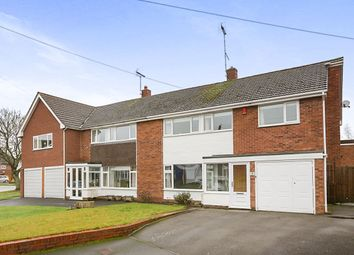 Thumbnail 4 bed semi-detached house for sale in Old Hall Close, Albrighton, Wolverhampton