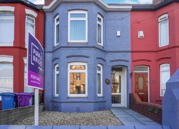 Thumbnail 3 bed terraced house for sale in Tilney Street, Liverpool