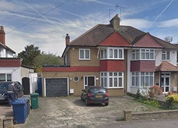 Thumbnail 4 bed semi-detached house to rent in Edgwarebury Lane, Edgware