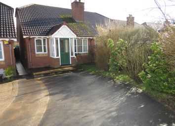 Thumbnail 2 bed semi-detached bungalow for sale in Vaughan Road, Cleobury Mortimer, Kidderminster