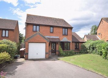 Thumbnail 4 bed detached house for sale in Downsway, Northampton