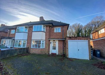 Thumbnail 3 bed semi-detached house to rent in Highwood Avenue, Solihull, West Midlands