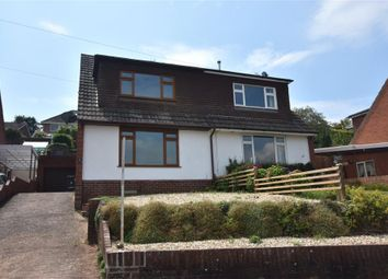 Thumbnail 3 bed semi-detached house for sale in Ashleigh Road, Exmouth, Devon