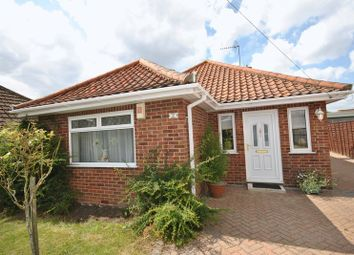 Thumbnail 2 bed bungalow for sale in Wood View Road, Hellesdon, Norwich