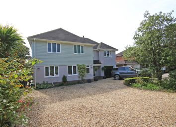 Thumbnail 4 bed detached house for sale in Sway Road, New Milton