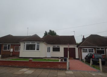 Thumbnail 3 bed bungalow for sale in Verdale Avenue, Leicester