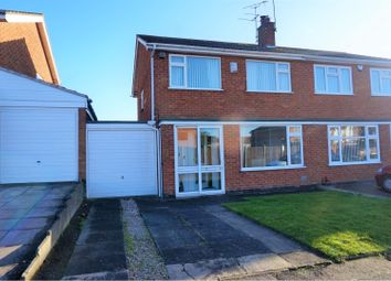 Thumbnail 3 bed semi-detached house for sale in Windrush Drive, Oadby