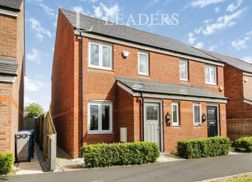Thumbnail 2 bed semi-detached house to rent in Applemint Close, Broadheath, Altrincham