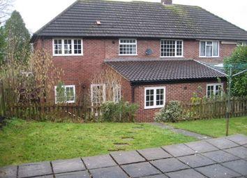 Thumbnail 4 bedroom semi-detached house to rent in Wells Road, Glastonbury