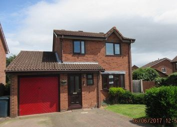 Thumbnail 3 bed detached house to rent in Coldridge Drive, Shrewsbury