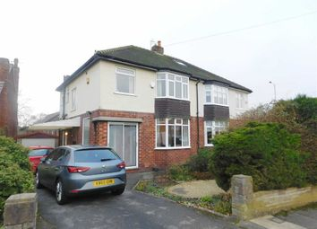 Thumbnail 3 bedroom semi-detached house for sale in Lowside Avenue, Woodley, Stockport