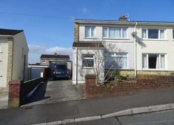 Thumbnail 2 bed semi-detached house for sale in Caer Berllan, Pencoed, Bridgend