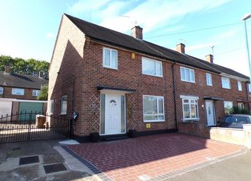 Thumbnail 3 bed end terrace house for sale in Thorold Close, Clifton, Nottingham, Nottinghamshire