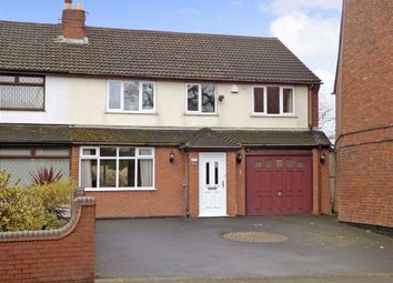 Thumbnail 4 bed semi-detached house for sale in Hednesford Road, Cannock, Staffordshire