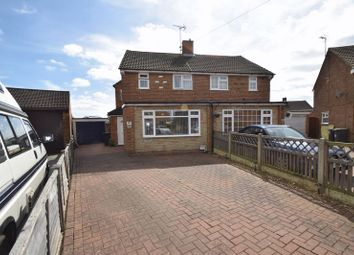 Thumbnail 3 bed semi-detached house for sale in Eastcott Close, Luton