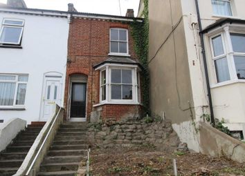 Thumbnail 3 bed terraced house for sale in Charles Street, Greenhithe