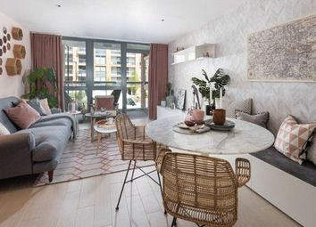 Thumbnail 1 bed flat for sale in Packington Square, London