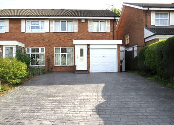 Thumbnail 3 bed semi-detached house for sale in Glascote Close, Shirley, Solihull